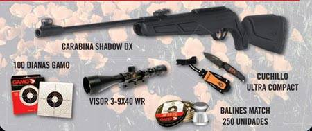 PACK DE AIRE COMPRIMIDO GAMO SHADOW DX