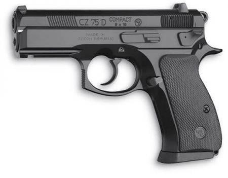 PISTOLA CZ 75D COMPACT, CZ 75D COMAPCT GUN
