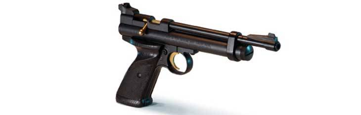 Pistolas de CO2 Crosman 2240.