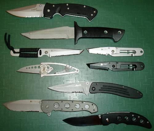 navajas y cuchillos columbia river