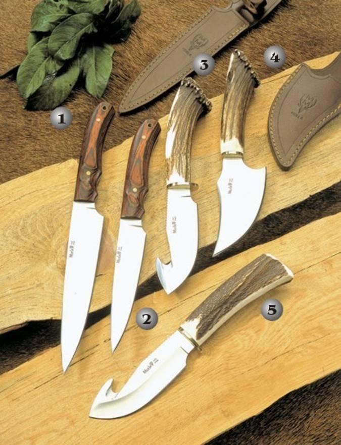 Cuchillos criollo, viper y sabueso Muela