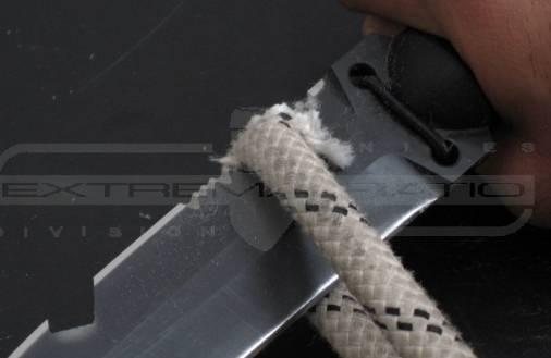 Sierra del cuchillo Ultramarine de Extrema Ratio para cortar cuerda
