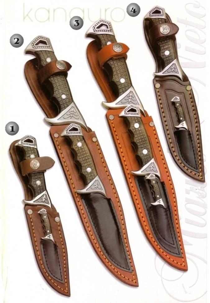 Cuchillos canguro Nieto con el mango pl�stico ABS