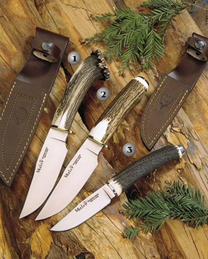 Cuchillos cougar y falcon Muela