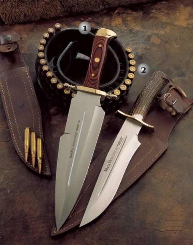Cuchillos Magnum y Duque Muela