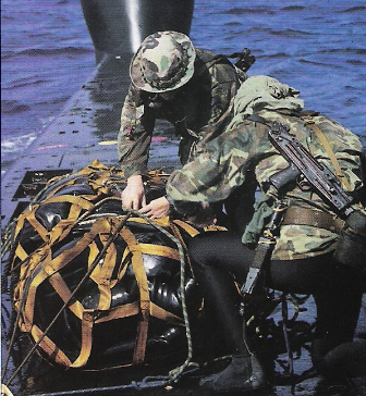 El ejército de varios países emplean el cuchillo de supervivencia Jungle King