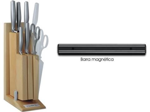 Dos formas de guardar y mantener los cuchillos tres claveles