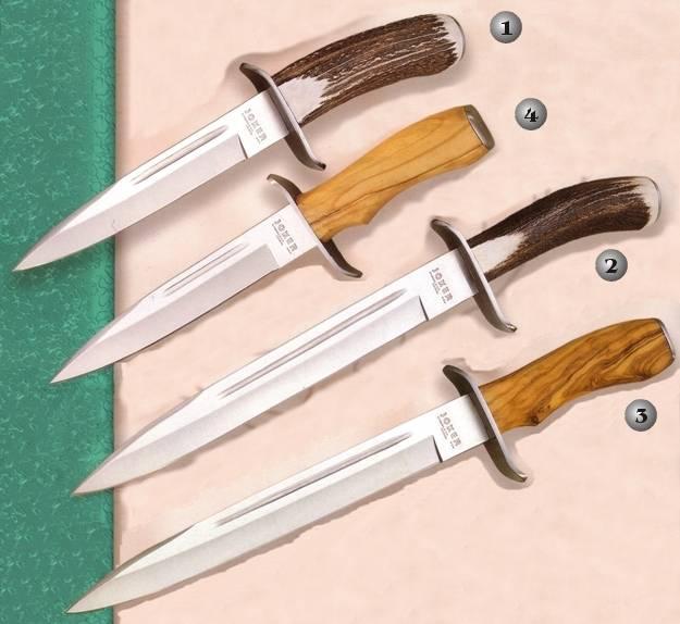 Cuchillos Joker CC32, CC31, CO31 y CO32. Cuchillos Joker de bayoneta.