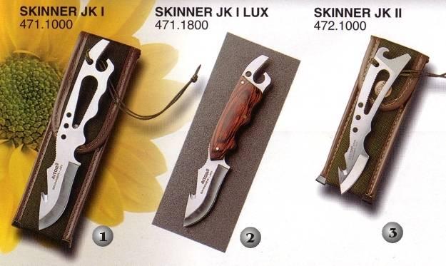 Cuchillos Aitor Skinner J.K. I, Skinner J.K. I Lux y Skinner J.K. II