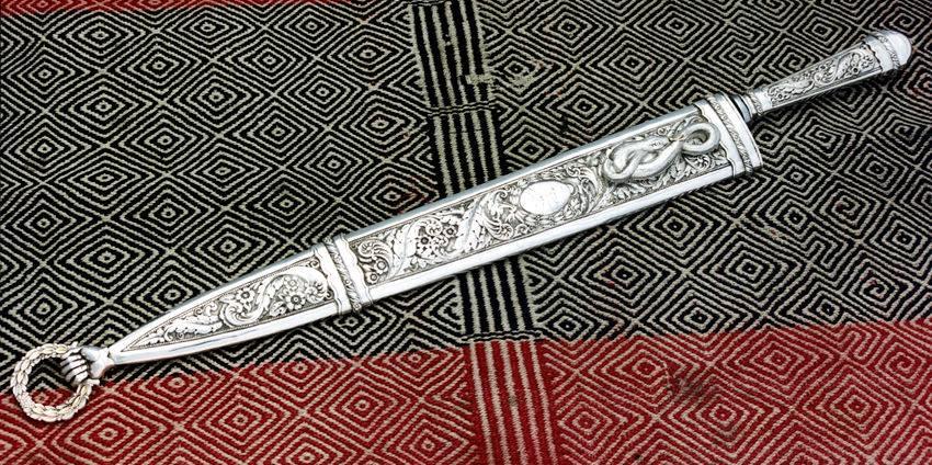 Cuchillos criollo, verijero argentinos