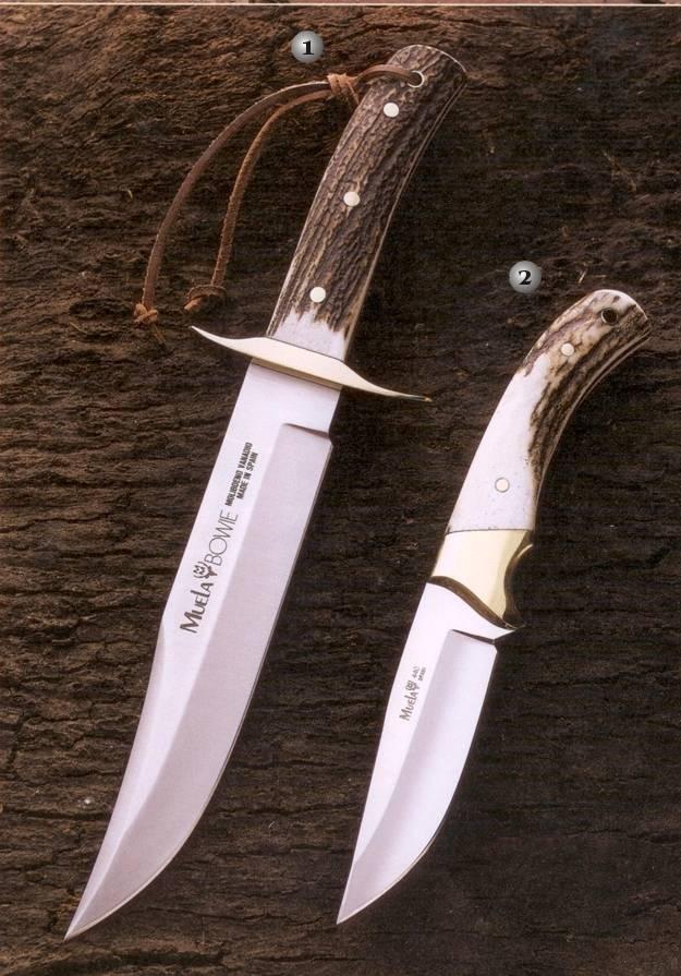 Cuchillo Muela BW-Classic-19A y cuchillo Setter-11a