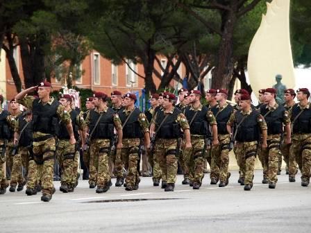 Unidad Col Moschin de Italia