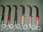 Corvos knives and atacameños knives of Chile
