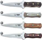 CUDEMAN BOOT KNIVES 131-C, 131-A, 131-L & 131-R