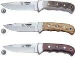 CUDEMAN HUNTING KNIVES 146-C, 146-L Y 146-R