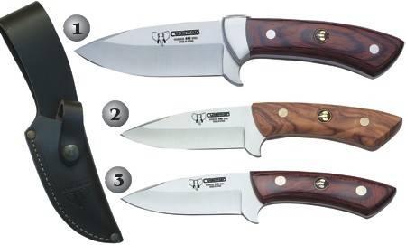 CUDEMAN SKINNING KNIVES 132-R, 135-L Y 135-R