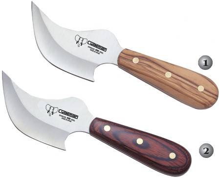 CUDEMAN SKINNING KNIVES 141-L Y 141-R