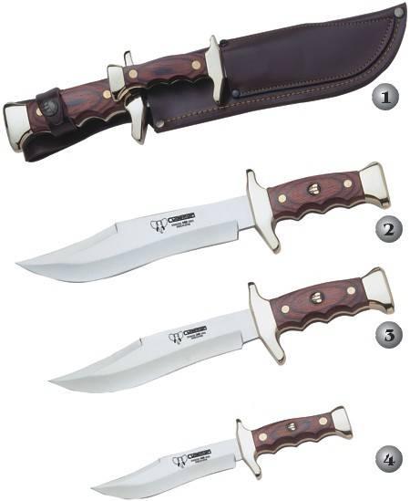 CUDEMAN KANGAROO /MOUNTING KNIVES 201-R, 202-R, 203-R & 204-R