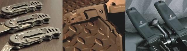 Empuñaduras de los cuchillos Extrema Ratio