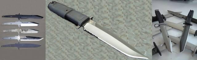Características y materiales de los cuchillos Extrema Ratio