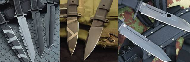 Hojas de los cuchillos Extrema Ratio