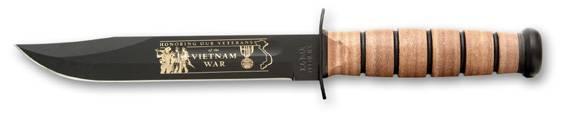 Cuchillo USMC conmemorativo de Vietnam Ka - Bar