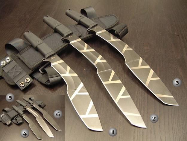 Cuchillos del ej�rcito Kukri de la marca Extrema Ratio Kukri