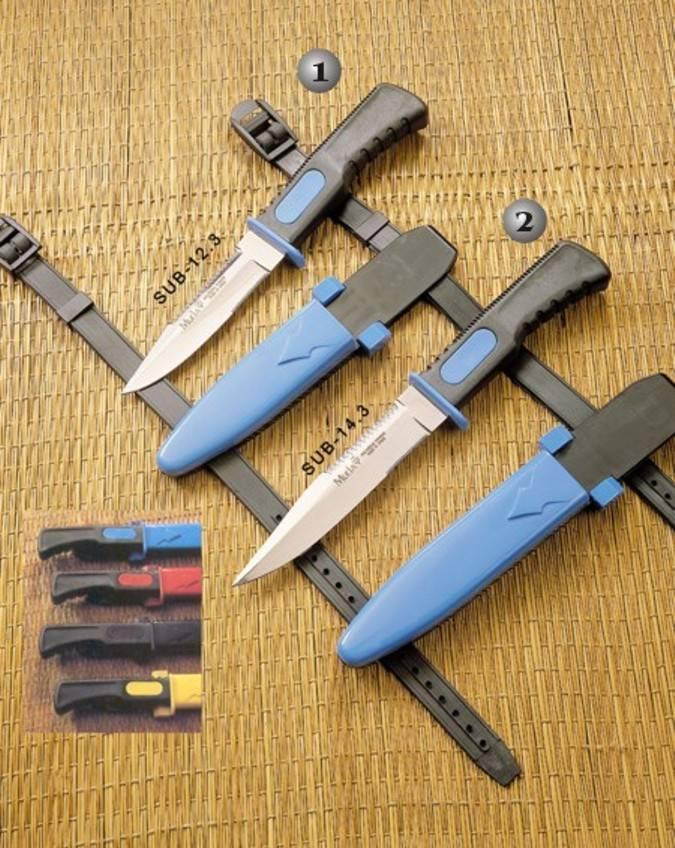 Cuchillos de la serie marina Muela
