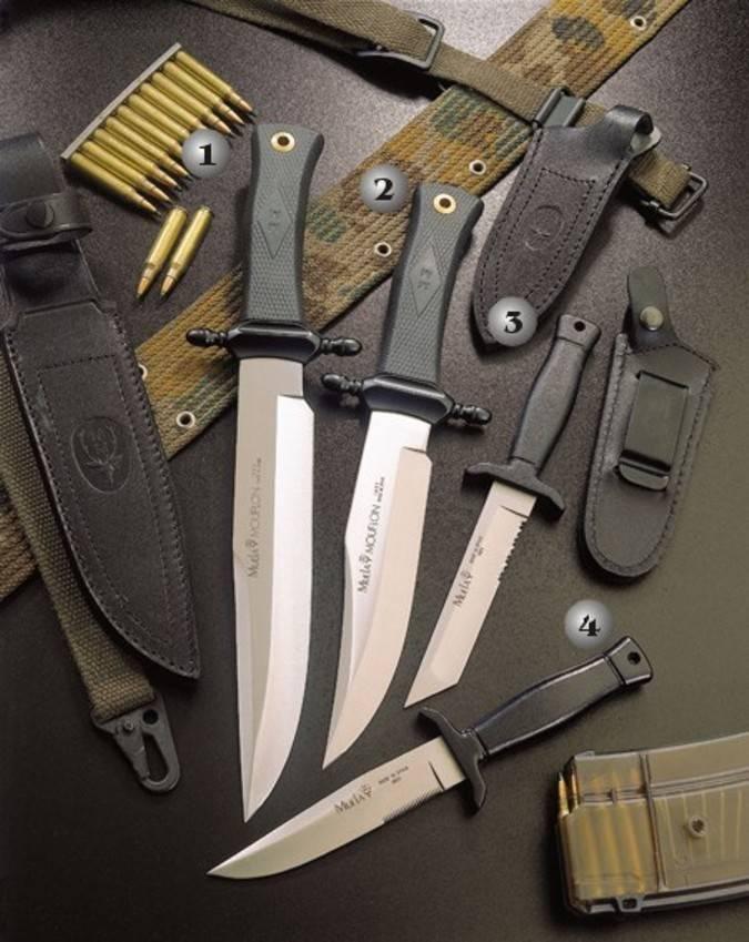 Cuchillos Botero y Mouflon Muela
