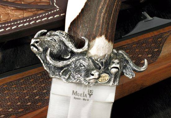 Cuchillos de caza Muela Safari Búfalo