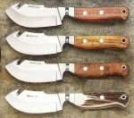 Cuchillos skinner Aitor, Muela, Joker, Andujar,...