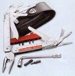 Multi tools with knives made by Victorinox