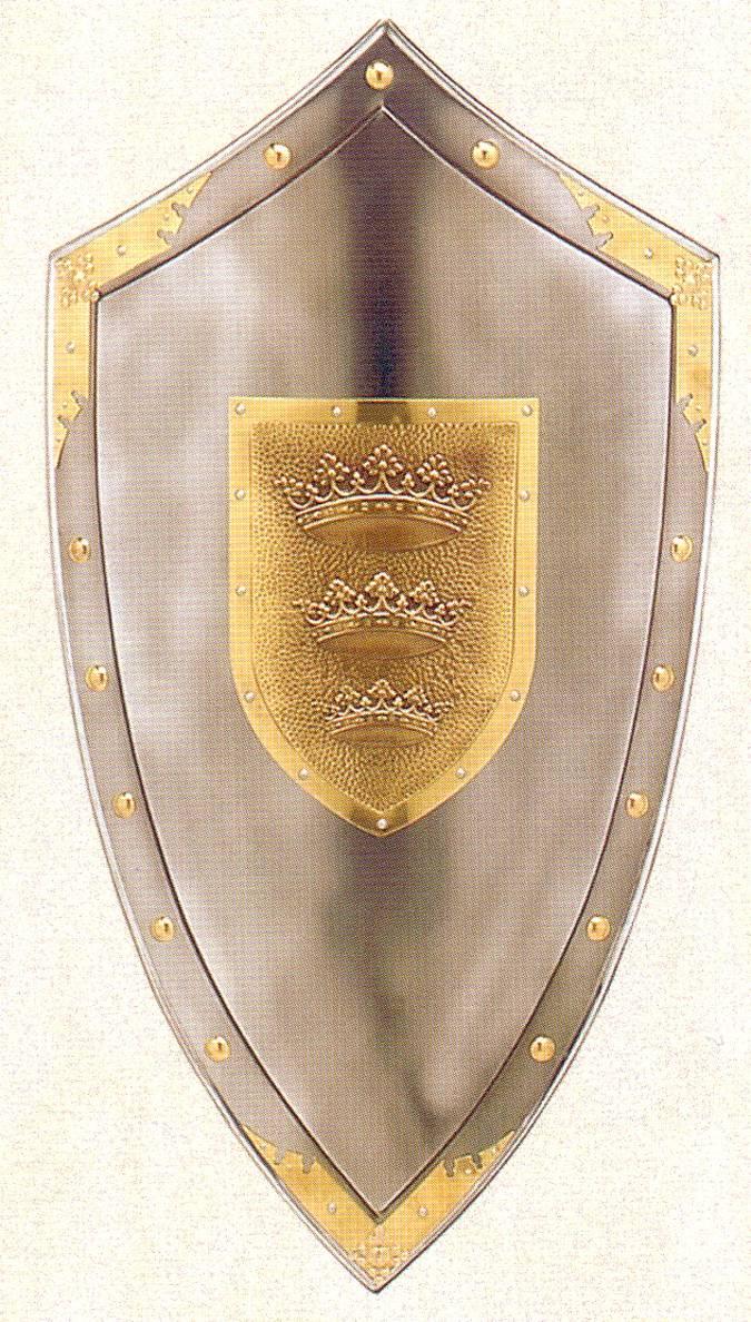 Reproduccion De Los Escudos Medievales Los Escudos Servian Para