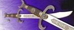 La espada árabe cimitarra.