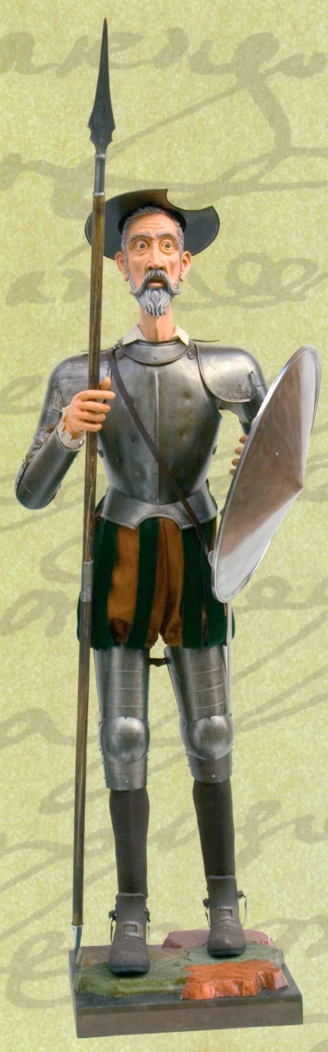 Armadura de Don Quijote por el IV Centenario de la publicaci�n de esta novela