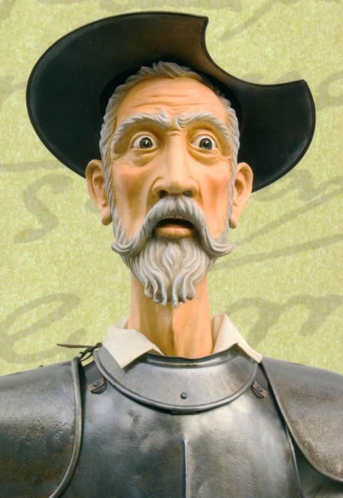 Casco Don Quijote de la Mancha, forma parte de su m�tica armadura