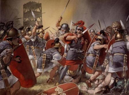 La guerra fue primordial para la extensión del Imperio Romano