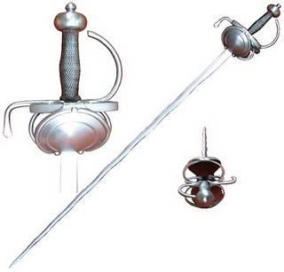 Las dagas solían acompañar a la espada ropera