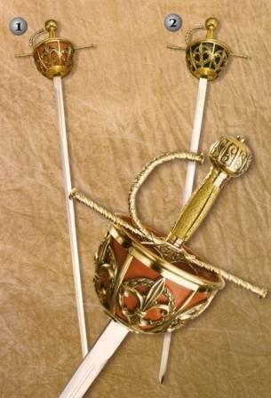 Espada ropera de cazoleta