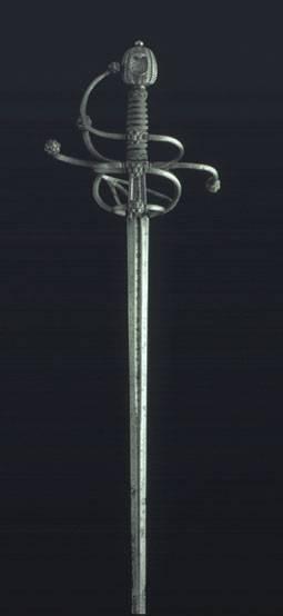 Antigua espada ropera española