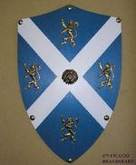 ESCUDO WILLIAM WALLACE