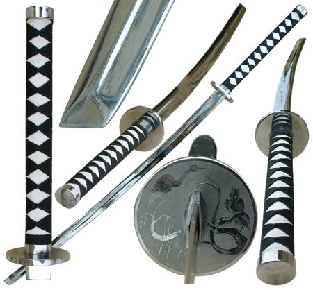 Training katana withouth scabbard.