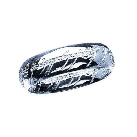 Anillo Unico de Plata del Señor de los anillos y el Hobbit