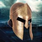 Casco de Esparta, de la película de 300 el origen de un imperio