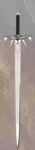 Espada Kurgan, réplica de la espada utilizada por Kurgan en la saga los inmortales