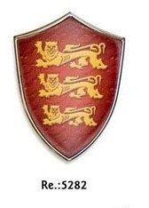 Escudo medieval mini con iman, del Ricardo Corazón de León