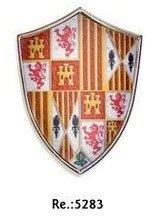 Escudo medieval mini con iman, de los Reyes Católicos