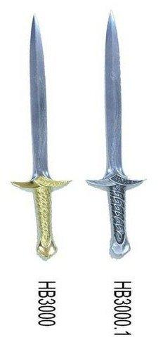 Mini espada Dardo de la pelicula El Hobbit, recreación en miniatura de la espada de Frodo