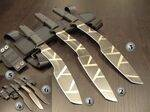 EXTREMA RATIO KUKRI (KS, KL, KH) TESTUDO AND GEOCAMO MILITARY KNIVES