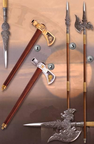 Armas oficiales de Enforcers. Lanza-medieval-espada